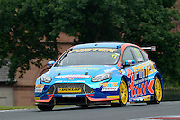 #77 Andrew Jordan GBR Motorbase Performance Ford Focus  during first practice for the BTCC Oulton Park 4th-5th June 2016 at Oulton Park, Little Budworth, Cheshire, United Kingdom. June 04 2016. World Copyright Peter Taylor/PSP.