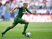 Jonathan Schmid (Augsburg)<br /> Hamburg, 19.08.2017, Fussball Bundesliga, Hamburger SV - FC Augsburg 1:0<br /> <br /> Norway only