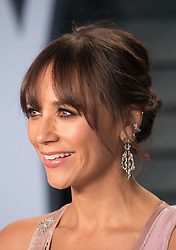 March 4, 2018 - Beverly Hills, California, U.S - Actress Rashida Jones on the red carpet of the 2018 Vanity Fair Oscar  Party held at the Wallis Annenberg Center in Beverly Hills,  California on Sunday March 4, 2018. (Credit Image: © Prensa Internacional via ZUMA Wire)