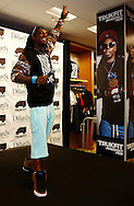 LOUISVILLE, KY - NOVEMBER 30:  Lil' Wayne promotes the Trukfit Collection at Dillard's on November 30, 2012 in Louisville, Kentucky. (Photo by Michael Hickey/Getty Images)