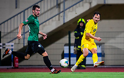 11# Mujan Tonci from NK Domzale during the match of 1. round of 1. Slovenian National Football League between: NK Domzale and NK Rudar Velenje on July 14, 2019 in Domzale, Slovenia. Photo by Urban Meglic / Sportida
