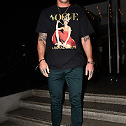 Calum Best attend TMA Talent Management Group host launch party for their new dating app, The List at 100 Wardour Street  on 3rd April 2019, London, UK.