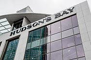ROTTERDAM - de hudson's bay warenhuis is in verbouwing in het oude v& d gebouw het warenhuis opent binnenkort in nederland ROBIN UTRECHT
