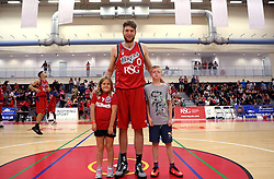 Michael Vigor with fans - Photo mandatory by-line: Robbie Stephenson/JMP - 17/09/2016 - BASKETBALL - SGS Wise Arena - Bristol, England - Bristol Flyers v Worcester Wolves - Exhibition Game
