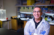 OSU researcher Francisco Ochoa-Corona developed the elution-independent collection device, which is designed to quickly, easily capture and store samples of any kind of fluid from blood to tree sap. The EICD is in line to replace DNA and RNA extraction kits currently in use. Ochoa-Corona and OSU earned a patent on the device in 2016.