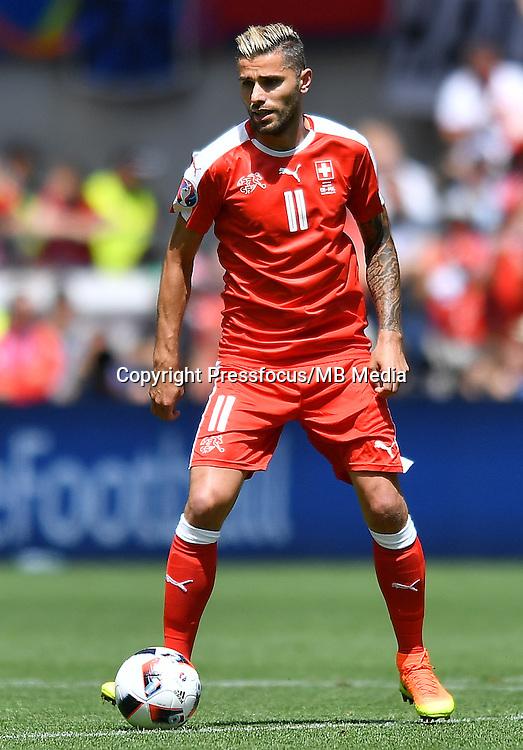 2016.06.25<br /> Football UEFA Euro 2016 <br /> Round of 16 game between Switzerland and Poland<br /> Valon Behrami<br /> Credit: Lukasz Laskowski / PressFocus