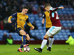 Josh Brownhill of Bristol City and Johann Gudmundsson of Burnley - Mandatory by-line: Matt McNulty/JMP - 28/01/2017 - FOOTBALL - Turf Moor - Burnley, England - Burnley v Bristol City - Emirates FA Cup fourth round