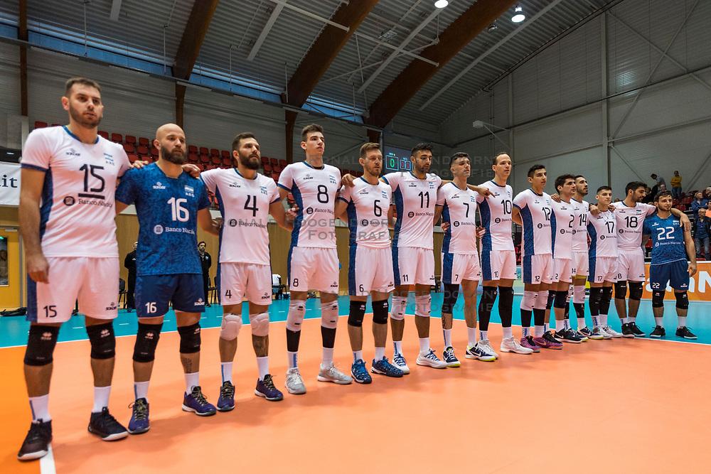 06-09-2018 NED: Netherlands - Argentina, Doetinchem<br /> First match of Gelderland Cup / Team Argentina line up