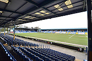 The JD Stadium before the Sky Bet League 1 match between Bury and Bradford City at the JD Stadium, Bury, England on 5 March 2016. Photo by Mark Pollitt.