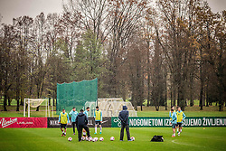 Practice session of Slovenia team before World Cup Qualifying football match against National teams of Malta, on November 7, 2016 in NNC Brdo pri Kranju, Slovenia. Photo by Vid Ponikvar / Sportida
