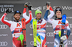 "26.01.2020, Streif, Kitzbühel, AUT, FIS Weltcup Ski Alpin, Slalom, Herren, im Bild """""""""""""" // during the men's Slalom of FIS Ski Alpine World Cup at the Streif in Kitzbühel, Austria on 2020/01/26. EXPA Pictures © 2020, PhotoCredit: EXPA/ Erich Spiess"