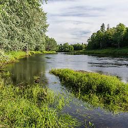 The Mattawamkeag River in Wytipitlock, Maine.