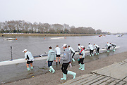 Putney. London.    Cambridge boating for the  2011 University Boat Race over the  Championship Course - Putney to Mortlake.  Saturday 26/03/2011  [Mandatory Credit; Peter Spurrier/Intersport-images] [Camera Hero Go PRO set on Stills]..OUBC. Bow Moritz HAFNER, 2 Ben MYERS, 3 Alec DENT, 4 Ben ELLISON, 5 Karl HUDSPITH, 6 Constantine LOULOUDIS, 7 George WHITTAKER, Stroke Simon HISLOP and Cox Sam WINTER-LEVY....