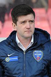 Bristol Academy manager, Dave Edmondson - Photo mandatory by-line: Dougie Allward/JMP - Mobile: 07966 386802 - 21/03/2015 - SPORT - Football - Bristol - Ashton Gate Stadium - Bristol Academy v FFC Frankfurt - UEFA Women's Champions League - Quarter Final - First Leg