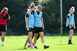 Gemma Evans and Yana Daniels of Bristol City Women during training at Failand - Mandatory by-line: Robbie Stephenson/JMP - 26/09/2019 - FOOTBALL - Failand Training Ground - Bristol, England - Bristol City Women Training