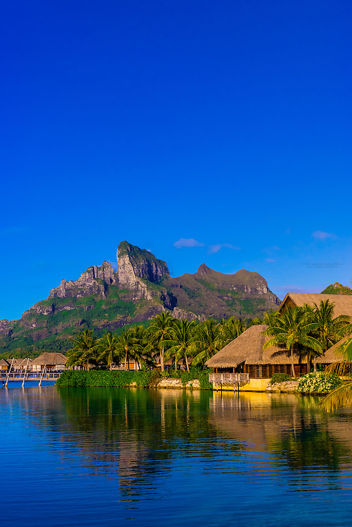Four Seasons Resort Bora Bora, Motu Tehotu, Bora Bora, Society Islands, French Polynesia.