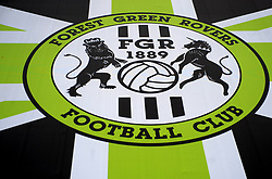 General views outside the stadium  - Mandatory by-line: Nizaam Jones/JMP- 09/02/2019 - FOOTBALL - New Lawn Stadium- Nailsworth, England - Forest Green Rovers v Notts County - Sky Bet League Two