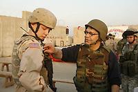 uso troup at Abu Ghraib prison, Iraq