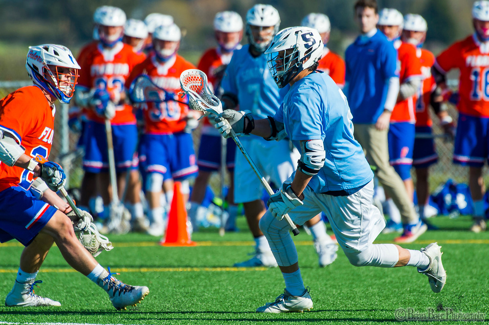 Sonoma State Seawolves lacrosse plays University of Florida, Sunday, March 4, 2018.<br /> Photo Brian Baer