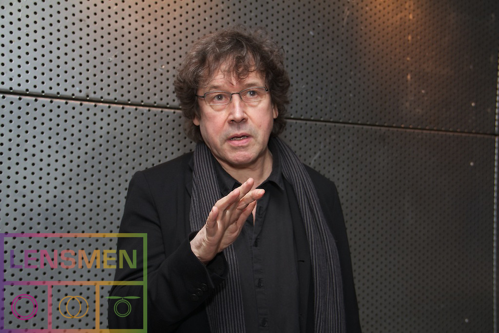 "Stephen Rea launches ""Staging Thought. Essays on Irish Theatre, Scholarship and Practice"" a book on Irish Theatre, Scholarship and Practice...A new book on Irish Theatre, Scholarship and Practice which provides a unique insight from practitioners and academics, will be launched by actor Stephen Rea at the Project Arts Centre, Dublin on February 25th..Pictured at the Launch .Stephen Rea...Edited by Dr Rhona Trench, Lecturer in Performing Arts at IT Sligo,  the book, ""Staging Thought. Essays on Irish Theatre, Scholarship and Practice"" also includes contributions from three of her colleagues at the Institute - lecturers Frank Conway, Dr Agnes Pallai and Suzanne Colleary. Playwright and member of the Abbey Board Tom Kilroy wrote the foreword to the book. .According to Dr Trench, Vice-President of the Irish Society for the Theatre Research (ISRT), one of the objectives of the book is to draw attention to the collaborative work involved in any production. Some of the essays examine the work of practitioners who help realise their work in performance, while also considering the relationship between creative work and audience..Frank Conway's essay ""The Sound of One Hand Clapping"" provides an informative look at the work of a designer, exploring particularly his experience of designing the Abbey theatre's production of Marina Carr's ""Ariel"" in 2002. Dr Agnes Pallai looks at the numerous roles involved in the production when a Hungarian theatre company in Romania staged Brian Friel's ""Translations"". Suzanne Colleary's essay ""God's Comic"" examines stand-up comic Tommy Tiernan's technique in investing his own life in his performance and how through exaggeration and timing he manipulates his audience..As well as featuring the perspectives of experts in scenography, physical theatre, dramaturgy and stand-up comedy, the collection includes academic contributions drawing from anthropology, psychology, sociology, gender studies and performance s"