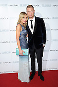 04.JUNE.2013. LONDON<br /> <br /> ANDREW AND RACHEL FLINTOFF ATTEND THE 2013 GLAMOUR AWARDS IN BERKLEY SQUARE.<br /> <br /> BYLINE: EDBIMAGEARCHIVE.CO.UK<br /> <br /> *THIS IMAGE IS STRICTLY FOR UK NEWSPAPERS AND MAGAZINES ONLY*<br /> *FOR WORLD WIDE SALES AND WEB USE PLEASE CONTACT EDBIMAGEARCHIVE - 0208 954 5968*