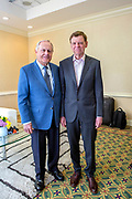 Pictured: Jack Nicklaus, Dr. John P. Kotter<br />
