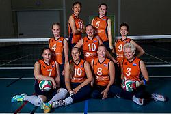 22-09-2017 NED: Portret zitvolleybalsters Oranje 2017-2018, Leersum<br /> Nederland bereidt zich voor op het komende EK zitvolleybal / Team 2017