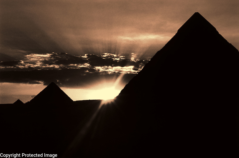 The Pyramids of Giza, Cairo Egypt