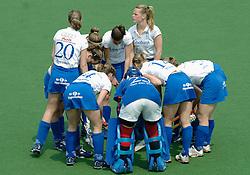 07-05-2006 HOCKEY: KAMPONG - LAREN: UTRECHT<br /> De vrouwen van hockeyvereniging Kampong hebben vanmiddag met 3 - 5 verloren van Laren / <br /> ©2006-WWW.FOTOHOOGENDOORN.NL