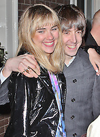 LONDON - January 08: Suki Waterhouse & Miles Kane at the London Collections: Men: Pretty Green Event (Photo by Brett D. Cove)