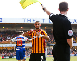 Bradford City's James Meredith gestures after being fouled - Photo mandatory by-line: Matt McNulty/JMP - Mobile: 07966 386802 - 07/03/2015 - SPORT - Football - Bradford - Valley Parade - Bradford City v Reading - FA Cup - Quarter Final