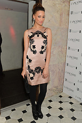 ELARICA GALLACHER at the Lancôme pre BAFTA party held at The London Edition, 10 Berners Street, London on 14th February 2014.