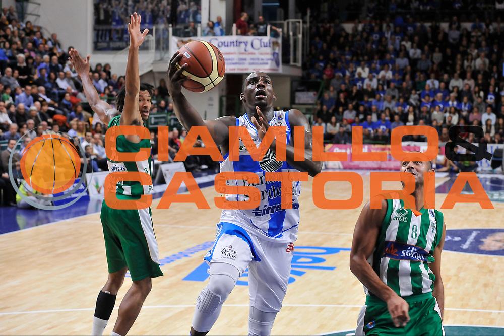 DESCRIZIONE : Campionato 2014/15 Dinamo Banco di Sardegna Sassari - Sidigas Scandone Avellino<br /> GIOCATORE : Rakim Sanders<br /> CATEGORIA : Tiro Penetrazione Sottomano<br /> SQUADRA : Dinamo Banco di Sardegna Sassari<br /> EVENTO : LegaBasket Serie A Beko 2014/2015<br /> GARA : Dinamo Banco di Sardegna Sassari - Sidigas Scandone Avellino<br /> DATA : 24/11/2014<br /> SPORT : Pallacanestro <br /> AUTORE : Agenzia Ciamillo-Castoria / Luigi Canu<br /> Galleria : LegaBasket Serie A Beko 2014/2015<br /> Fotonotizia : Campionato 2014/15 Dinamo Banco di Sardegna Sassari - Sidigas Scandone Avellino<br /> Predefinita :