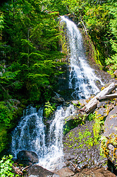 Narada Falls, Mt. Rainier National Park, Washington, US
