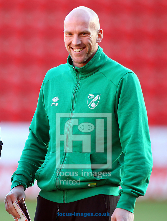 John Ruddy of Norwich before the Sky Bet Championship match at the AESSEAL New York Stadium, Rotherham<br /> Picture by Paul Chesterton/Focus Images Ltd +44 7904 640267<br /> 14/01/2017