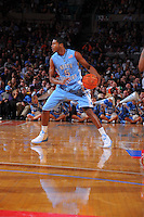 North Carolina guard Dexter Strickland #5 against the Ohio State Buckeyes during the 2K Sports Classic at Madison Square Garden. (Mandatory Credit: Delane B. Rouse/Delane Rouse Photography)
