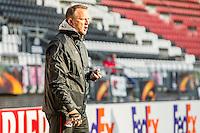 ALKMAAR - 19-10-2016, training persconferentie AZ, AFAS Stadion, AZ trainer John van den Brom