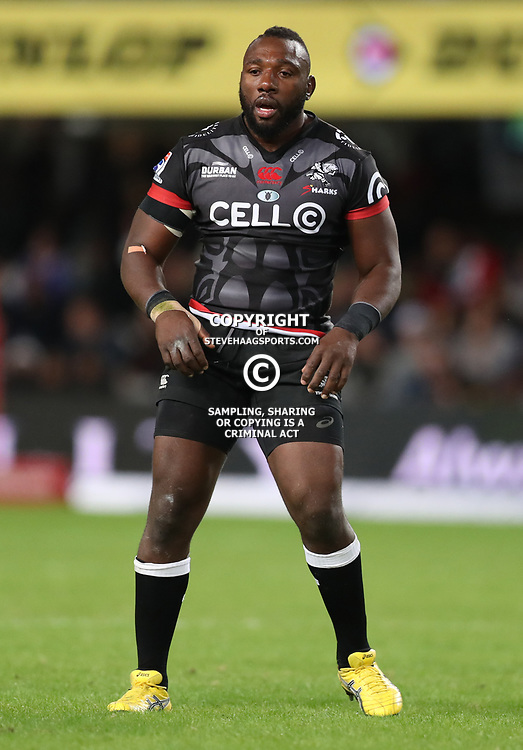 DURBAN, SOUTH AFRICA - MAY 27: Beast Mtawarira of the Cell C Sharks during the Super Rugby match between Cell C Sharks and DHL Stormers at Growthpoint Kings Park on May 27, 2017 in Durban, South Africa. (Photo by Steve Haag/Gallo Images)