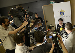 May 19, 2017 - Stockholm, Sweden - Director of Public Prosecution, Ms Marianne Ny, has today decided to discontinue the investigation regarding suspected rape (lesser degree) by Julian Assange. Press conference, Stockholm, Sweden 2017-05-19..(c) Robin Lorentz-Allard  / Aftonbladet / IBL BildbyrÃ¥....* * * EXPRESSEN OUT  (Credit Image: © Aftonbladet/IBL via ZUMA Wire)