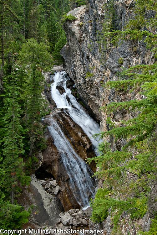 Lower Granite Falls on Granite Creek in northern Idaho