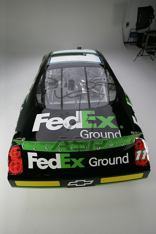 Concord, NC - Jan 15, 2006:  The No 11 FedEx Chevrolet Monte Carlo is photographed at D3 Studios in Concord, NC.