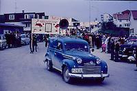 Russetog i B&oslash; 17.mai 1967.<br /> Celebration of National Day, May 17th 1967, B&oslash; Telemark