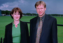 MR JONATHAN DUNHILL son of Richard Dunhill chairman of Dunhill and MISS HILARY LOWE at a luncheon in Berkshire on 22nd June 1997.LZN 8