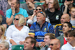 Worcester Warriors supporters - Rogan Thomson/JMP - 03/09/2016 - RUGBY UNION - Twickenham Stadium - London, England - Saracens v Worcester Warriors - Aviva Premiership London Double Header.