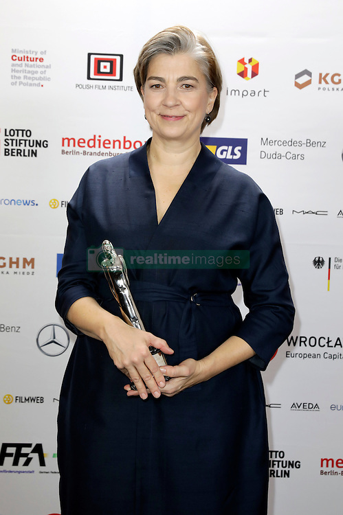 December 10, 2016 - Wroclaw, Lower Silesian, Deutschland - Stefanie Bieker attends the 29th European Film Awards 2016 at the National Forum of Music on December 10,2016 in Wroclaw, Poland. (Credit Image: © Future-Image via ZUMA Press)