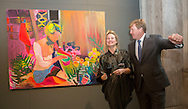 Amsterdam,  7-10-2016  <br /> <br /> King Willem-Alexander handed over the Royal Prize of Free Painting Art at The Royal Palace of Amsterdam.<br /> <br /> ARTIST ; Tanja Ritterbex<br /> <br /> COPYRIGHT ROYALPORTRAITS EUROPE/ BERNARD RUEBSAMEN