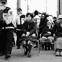 Jeju anti-naval base protest