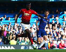 October 20, 2018 - London, England, United Kingdom - London, England - October 20: 2018.Manchester United's Paul Pogba.during Premier League between Chelsea and Manchester United at Stamford Bridge stadium , London, England on 20 Oct 2018..Credit Action Foto Sport  (Credit Image: © Action Foto Sport/NurPhoto via ZUMA Press)