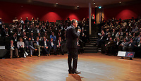 BUSSUM - NVG / NGF/ PGA congres 2018. The drive to happiness. Jeroen Stevens (NGF)   COPYRIGHT KOEN SUYK