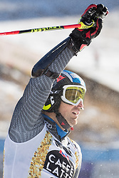 18.12.2016, Grand Risa, La Villa, ITA, FIS Ski Weltcup, Alta Badia, Riesenslalom, Herren, 2. Lauf, im Bild Manfred Moelgg (ITA) // Manfred Moelgg of Italy reacts after his 2nd run of men's Giant Slalom of FIS ski alpine world cup at the Grand Risa race Course in La Villa, Italy on 2016/12/18. EXPA Pictures © 2016, PhotoCredit: EXPA/ Johann Groder
